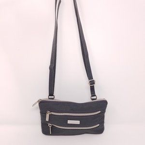 Baggallini small two-zip cross body purse